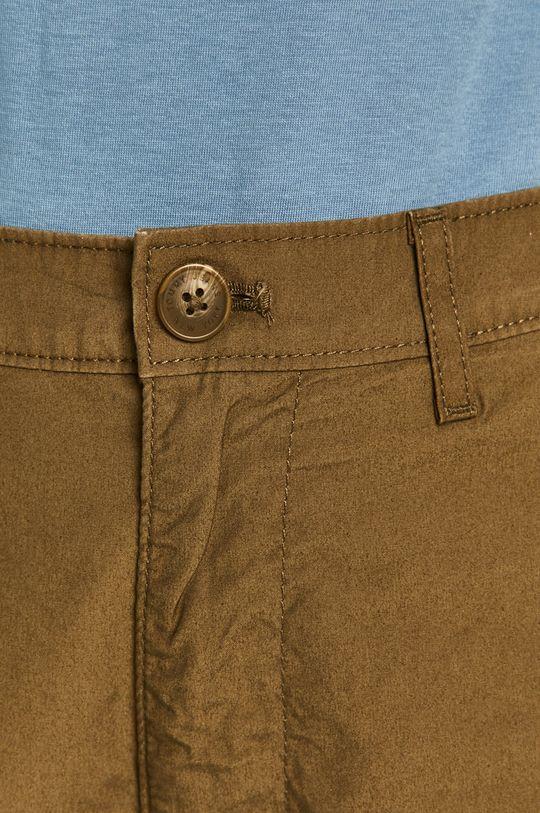 hnedozelená Tommy Jeans - Šortky