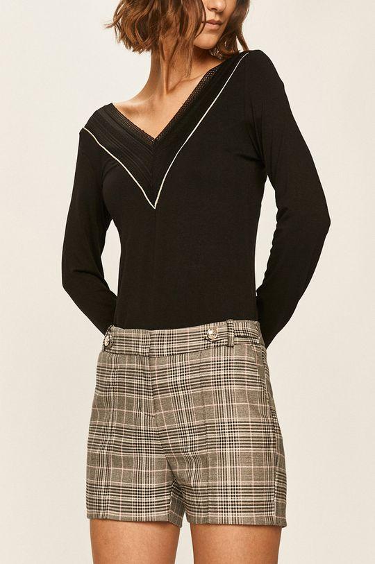 negru Morgan - Pantaloni scurti De femei