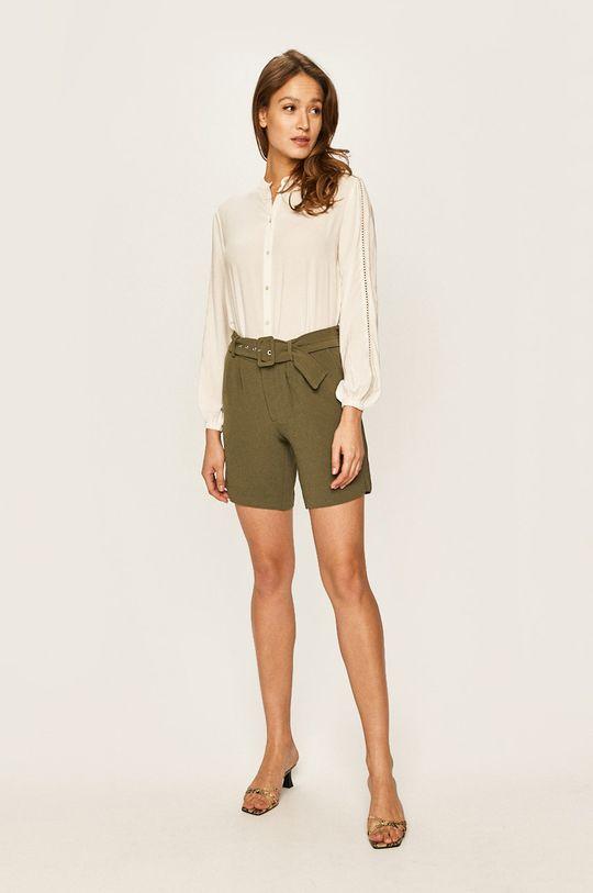 Vero Moda - Šortky zelená