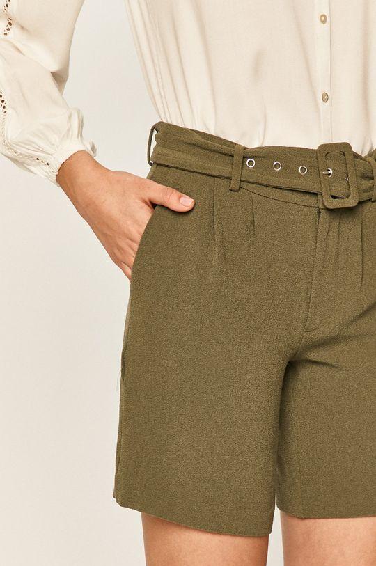zelená Vero Moda - Šortky