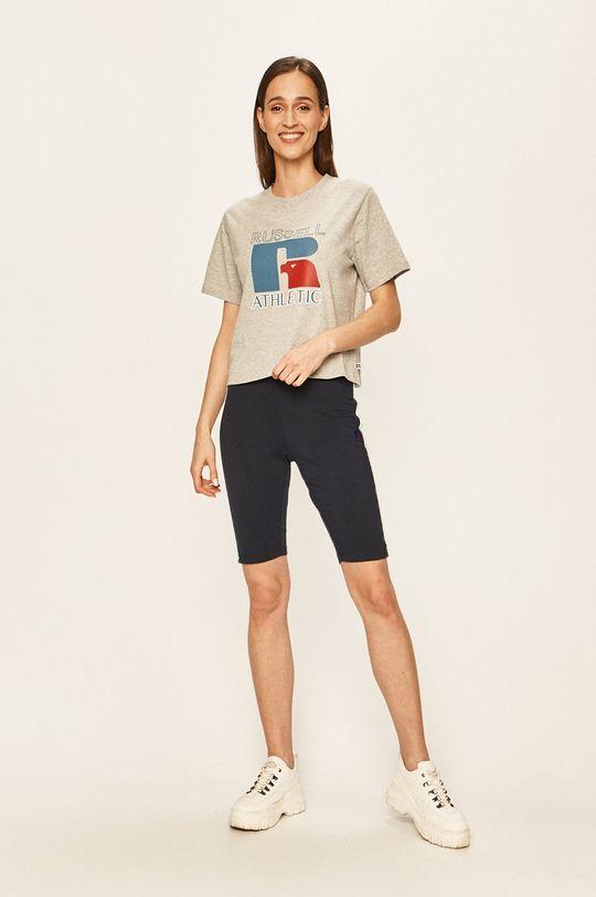 Russel Athletic - Pantaloni scurti bleumarin
