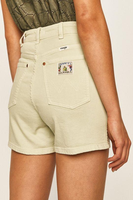 Wrangler - Szorty jeansowe 99 % Bawełna, 1 % Elastan