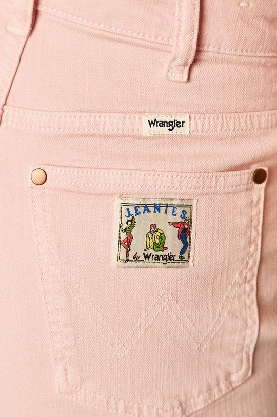 розов Wrangler - Дънкови къси панталони