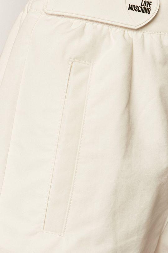 biały Love Moschino - Szorty W.O.144.80.T.99.70