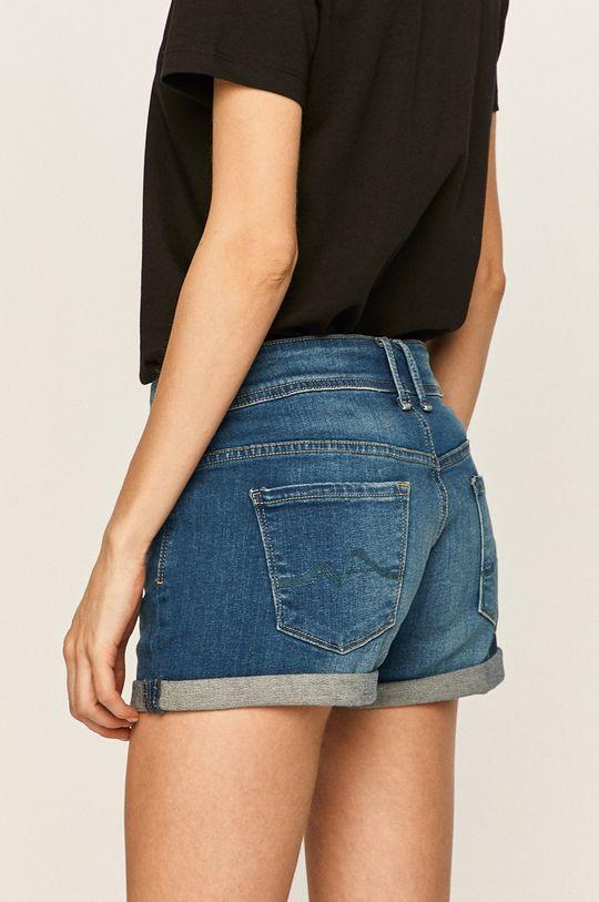 Pepe Jeans - Kraťasy Materiál č. 1: 2% Elastan, 98% Bavlna Materiál č. 2: 65% Polyester, 35% Bavlna