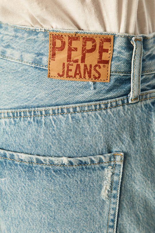 modrá Pepe Jeans - Džínové šortky Mable Archive