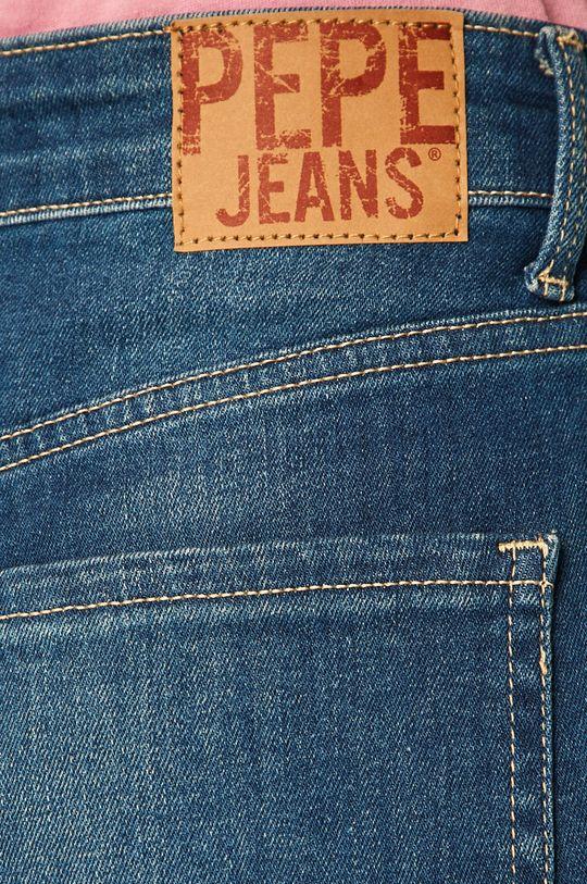 niebieski Pepe Jeans - Szorty jeansowe Mary Archive