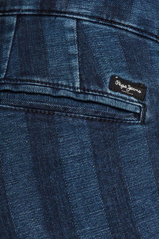 niebieski Pepe Jeans - Szorty jeansowe Maurie