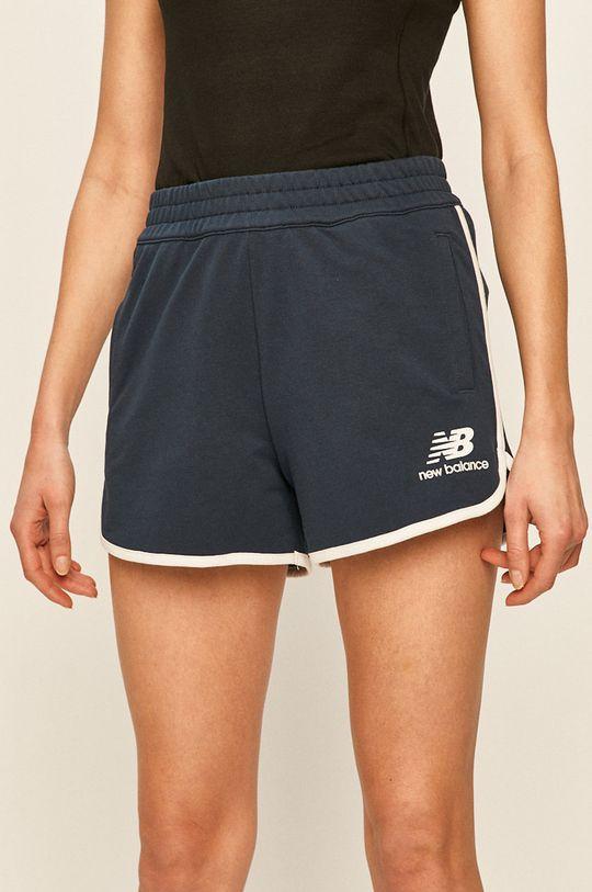 bleumarin New Balance - Pantaloni scurti De femei