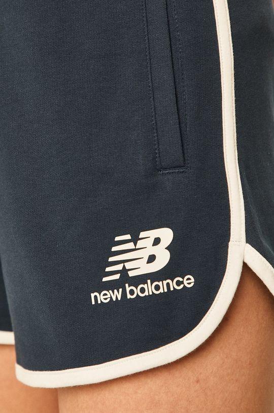 bleumarin New Balance - Pantaloni scurti