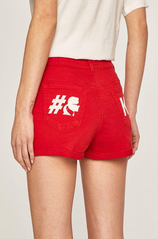 Karl Lagerfeld Denim - Pantaloni scurti jeans 2% Elastan, 98% Bumbac