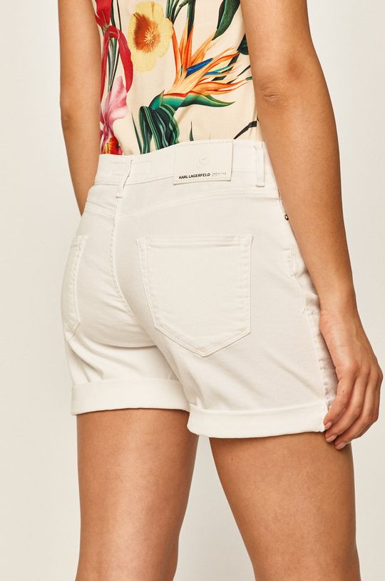 Karl Lagerfeld Denim - Pantaloni scurti jeans 100% Bumbac