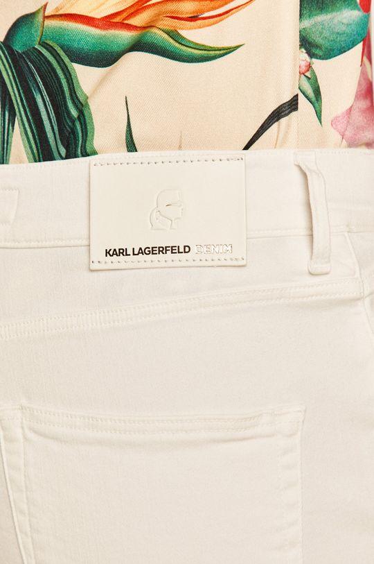 alb Karl Lagerfeld Denim - Pantaloni scurti jeans