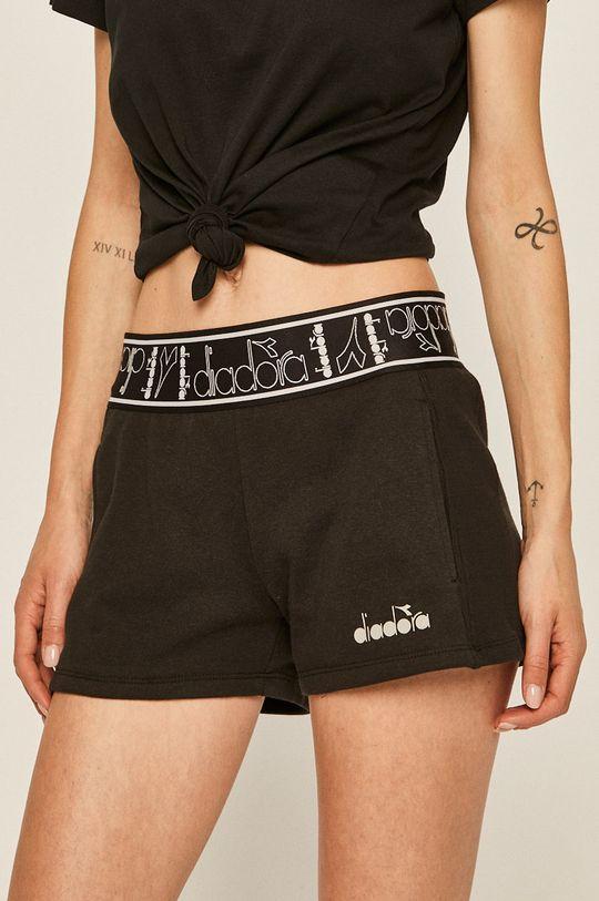 negru Diadora - Pantaloni scurti De femei