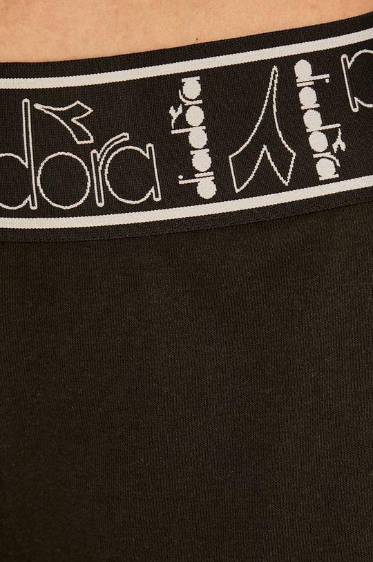 czarny Diadora - Szorty