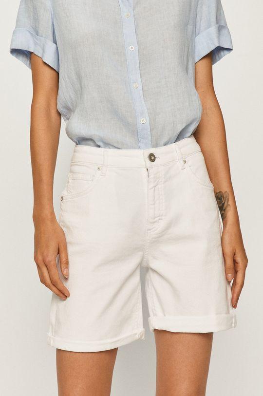 biały Marc O'Polo - Szorty jeansowe Damski