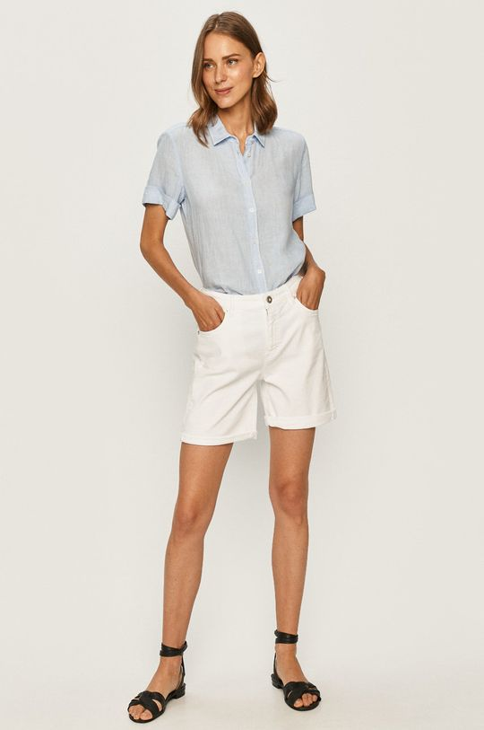Marc O'Polo - Szorty jeansowe biały