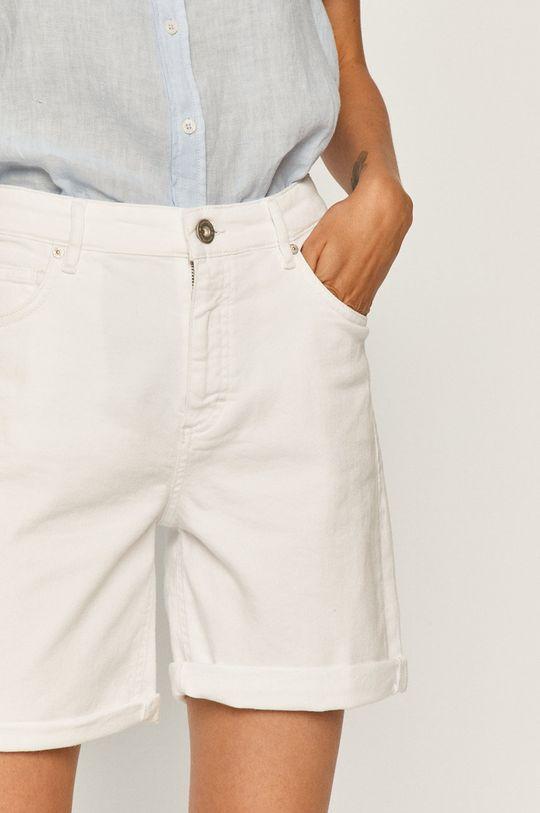 biały Marc O'Polo - Szorty jeansowe