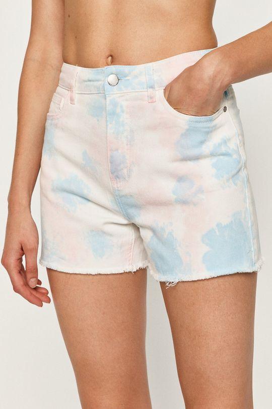modrá Only - Rifľové krátke nohavice Dámsky