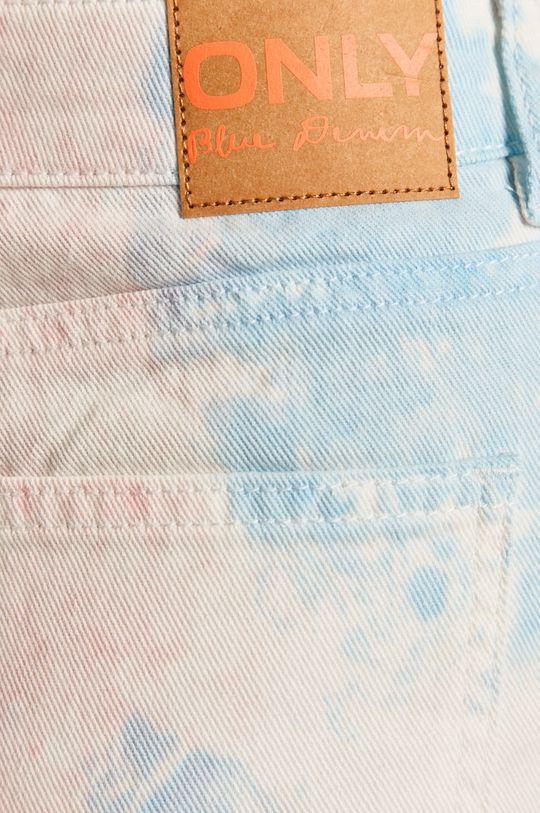 modrá Only - Rifľové krátke nohavice