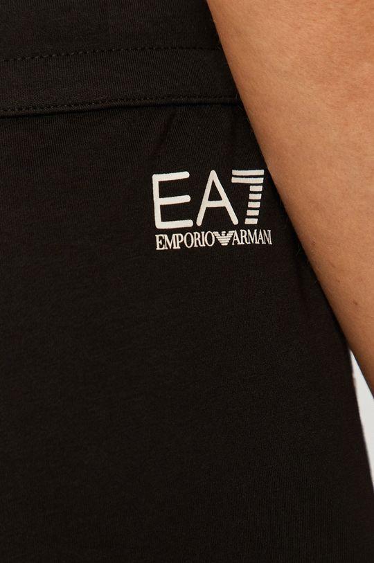 negru EA7 Emporio Armani - Pantaloni scurti