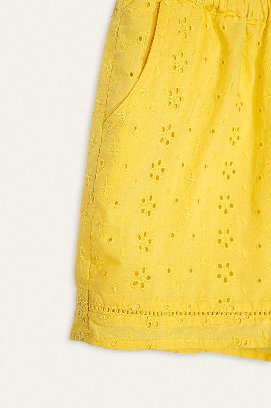 Kids Only - Dětské kraťasy 134-164 cm žlutá
