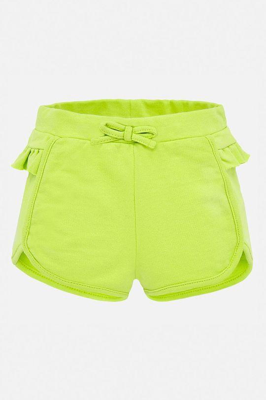 galben – verde Mayoral - Pantaloni scurti copii 80-98 cm De fete