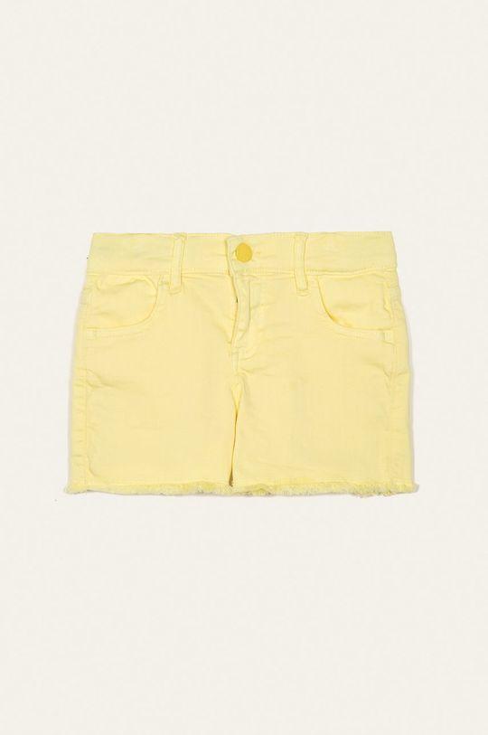 galben deschis Guess Jeans - Pantaloni scurti copii 118-175 cm De fete