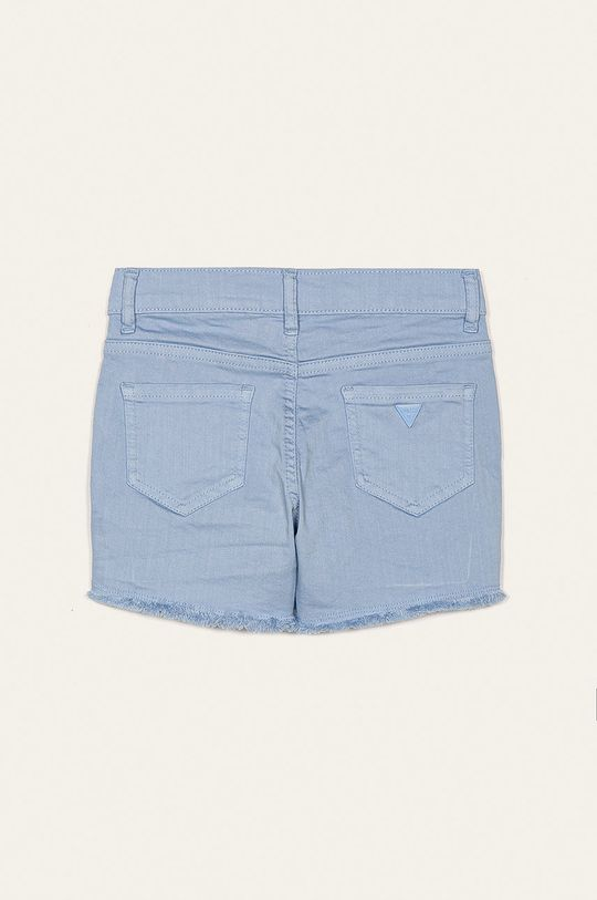 Guess Jeans - Szorty dziecięce 118-175 cm Materiał zasadniczy: 98 % Bawełna, 2 % Elastan, Podszewka kieszeni: 48 % Bawełna, 52 % Poliester