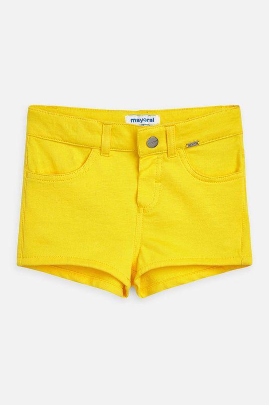 žltá Mayoral - Detské krátke nohavice 92-134 cm Dievčenský