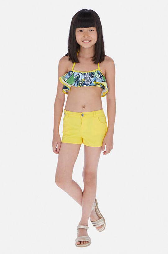 žltá Mayoral - Detské krátke nohavice 128-167 cm Dievčenský