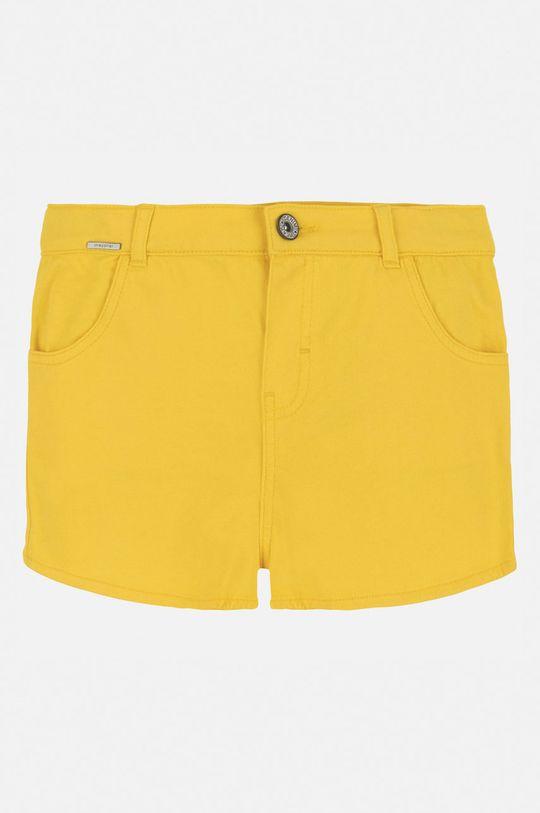 Mayoral - Detské krátke nohavice 128-167 cm žltá