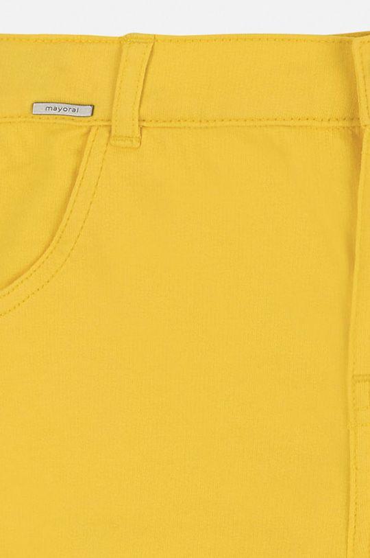 žltá Mayoral - Detské krátke nohavice 128-167 cm
