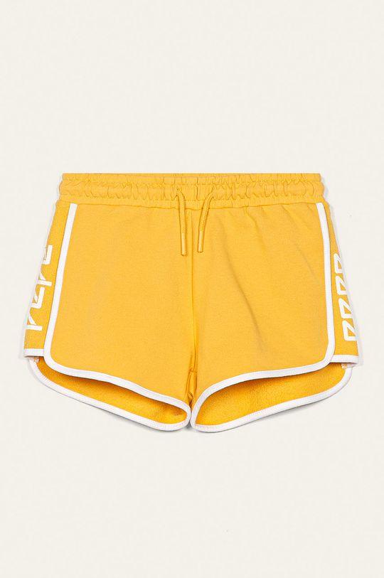żółty Pepe Jeans - Szorty dziecięce Elle Dziewczęcy