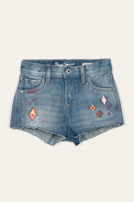 niebieski Pepe Jeans - Szorty dziecięce Ivy Craft 128-180 cm Dziewczęcy