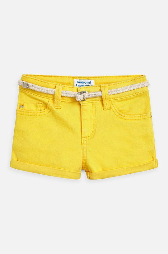 žlutá Mayoral - Dětské kraťasy 104-134 cm Dívčí
