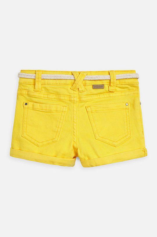 Mayoral - Dětské kraťasy 104-134 cm žlutá