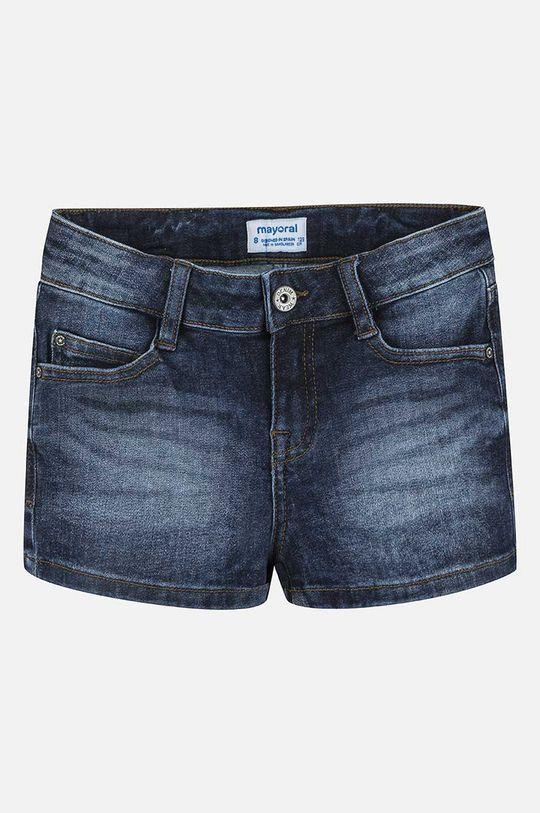 Mayoral - Detské krátke nohavice 128-167 cm oceľová modrá