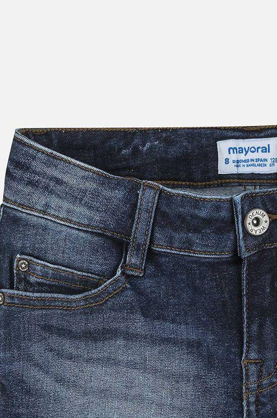 oceľová modrá Mayoral - Detské krátke nohavice 128-167 cm