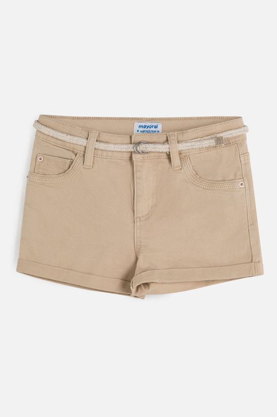 béžová Mayoral - Detské krátke nohavice 128-167 cm Dievčenský