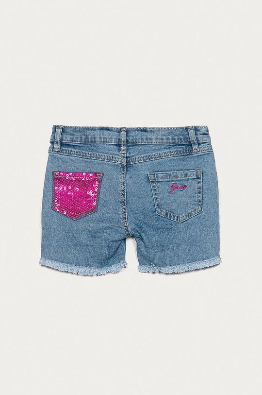 Guess Jeans - Dětské kraťasy 92-122 cm  Podšívka: 48% Bavlna, 52% Polyester Hlavní materiál: 99% Bavlna, 1% Elastan