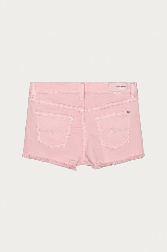 Pepe Jeans - Dětské kraťasy Patty 128-180 cm pastelově růžová