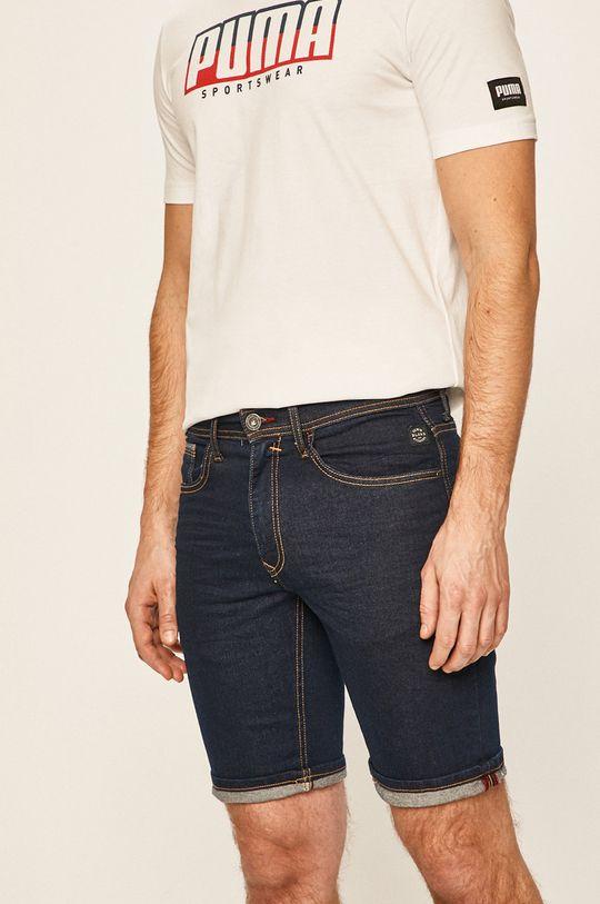 tmavomodrá Blend - Rifľové krátke nohavice Pánsky