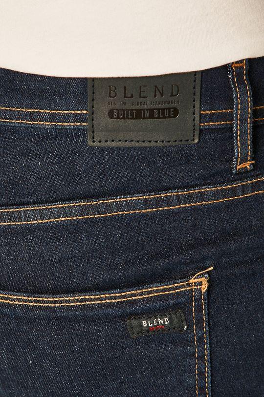 tmavomodrá Blend - Rifľové krátke nohavice