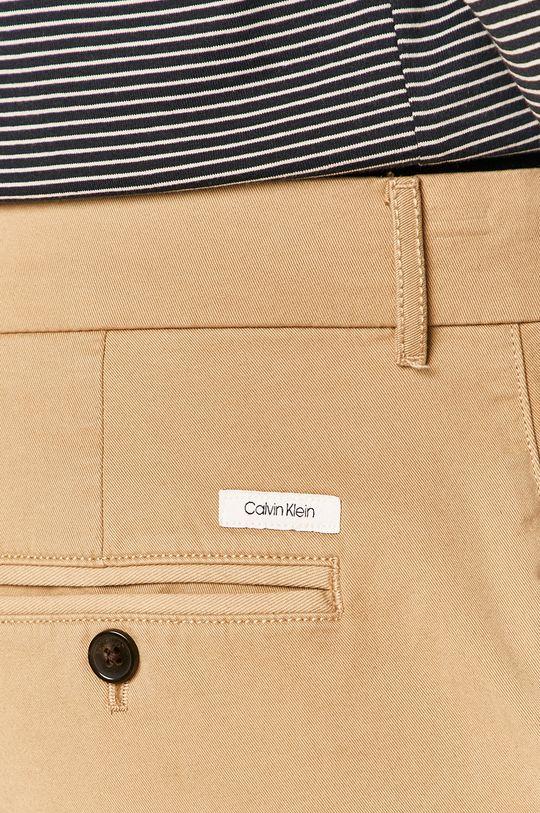 béžová Calvin Klein - Kraťasy