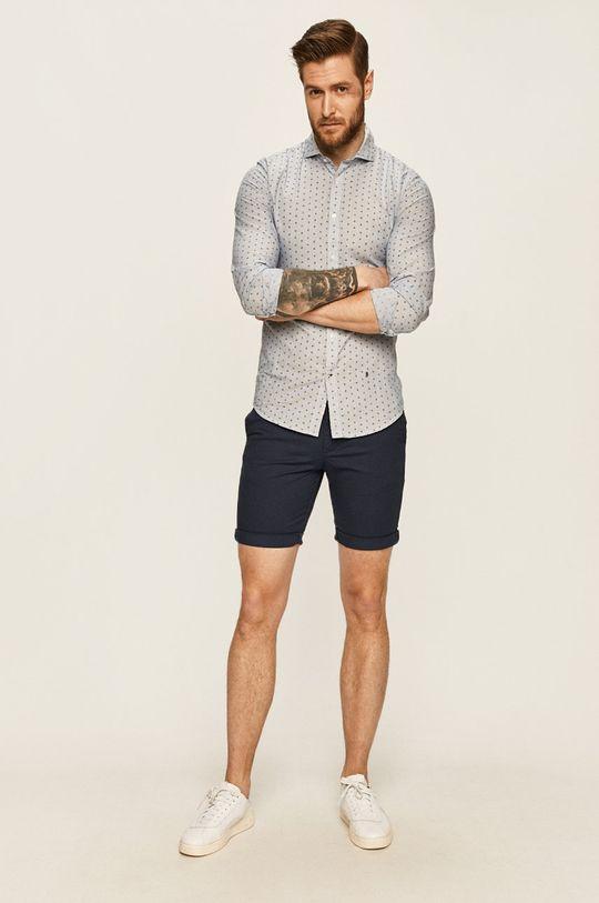 Selected - Pantaloni scurti bleumarin