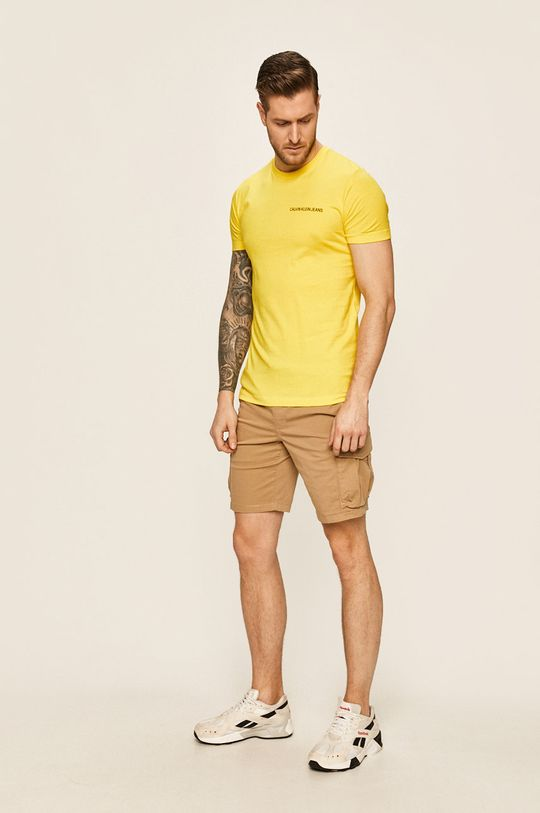 Calvin Klein Jeans - Szorty beżowy