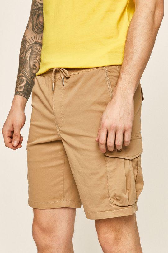 beżowy Calvin Klein Jeans - Szorty