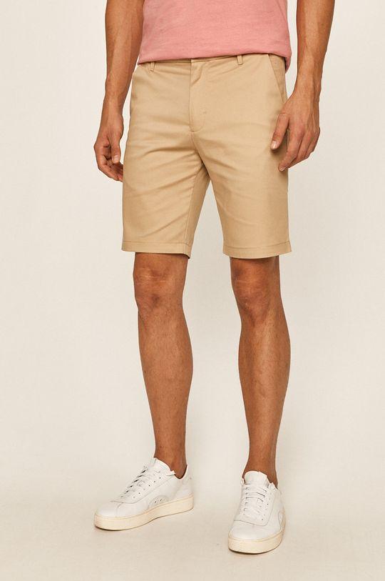 bej Calvin Klein Jeans - Pantaloni scurti De bărbați