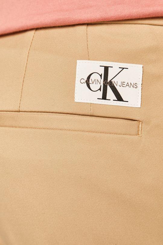 bej Calvin Klein Jeans - Pantaloni scurti